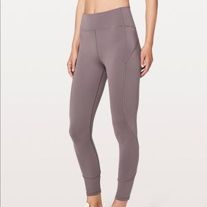 Lululemon Women's In-Movement Legging 7/8 Everlux